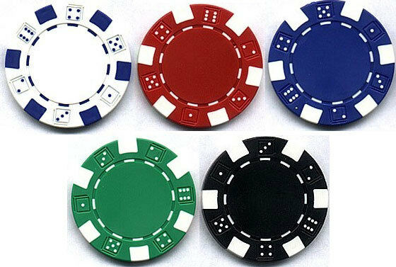 Poker chips Zoom champion