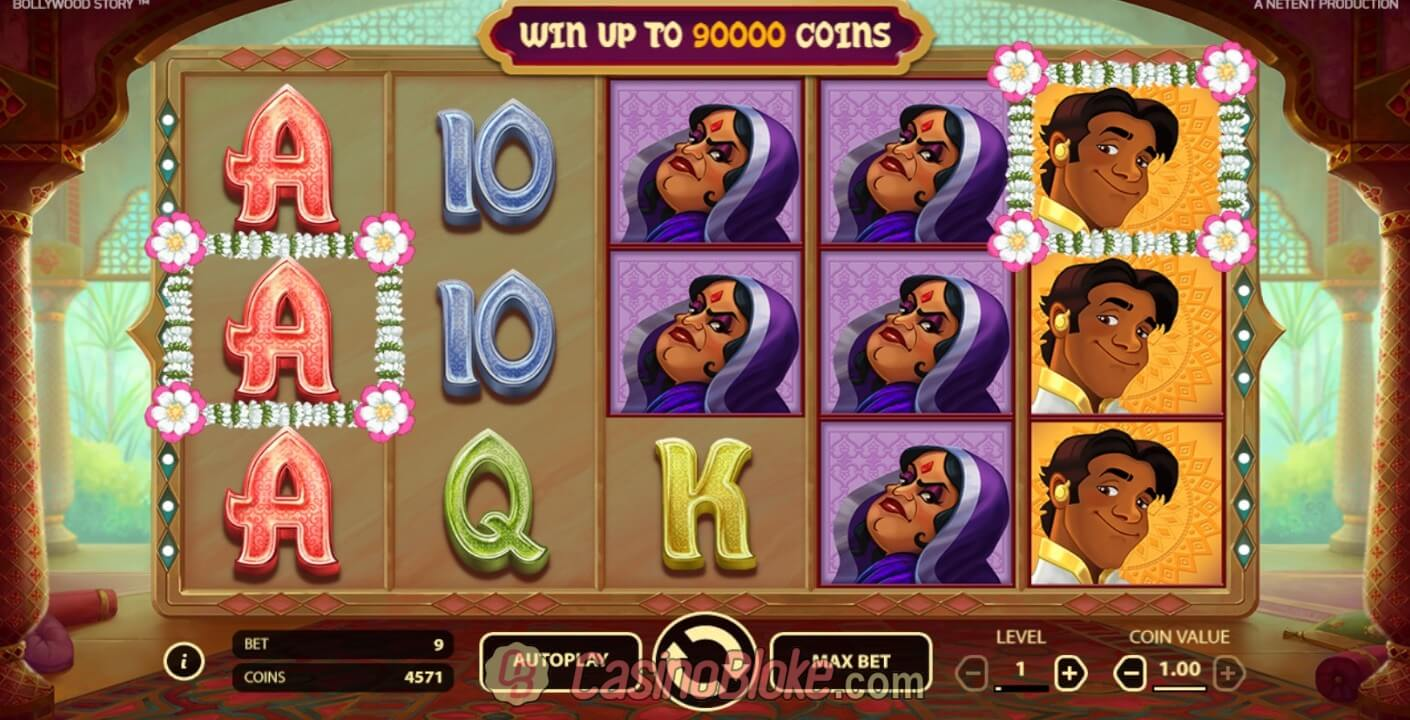 Video Bollywood Story slot mandarin